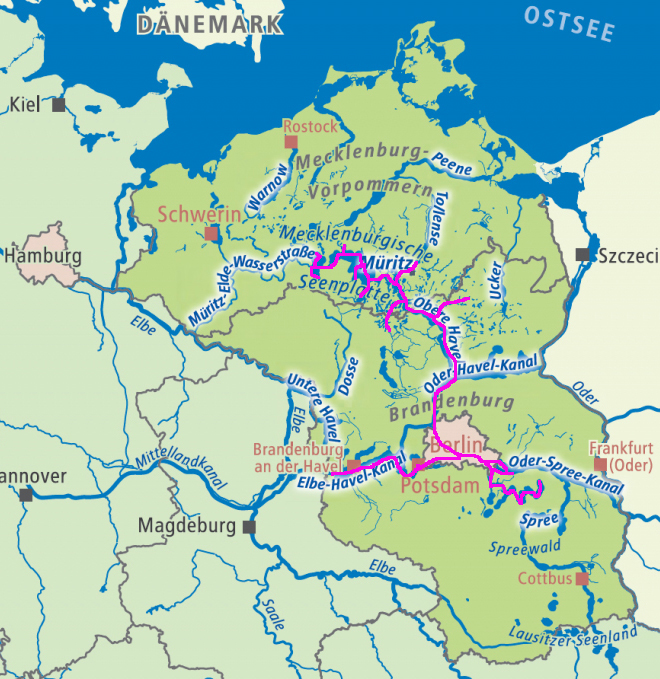 wasserstraßen deutschland routenplaner
